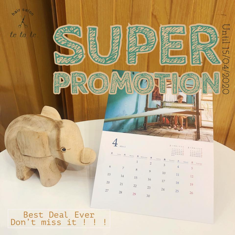 APRIL Super Promotion