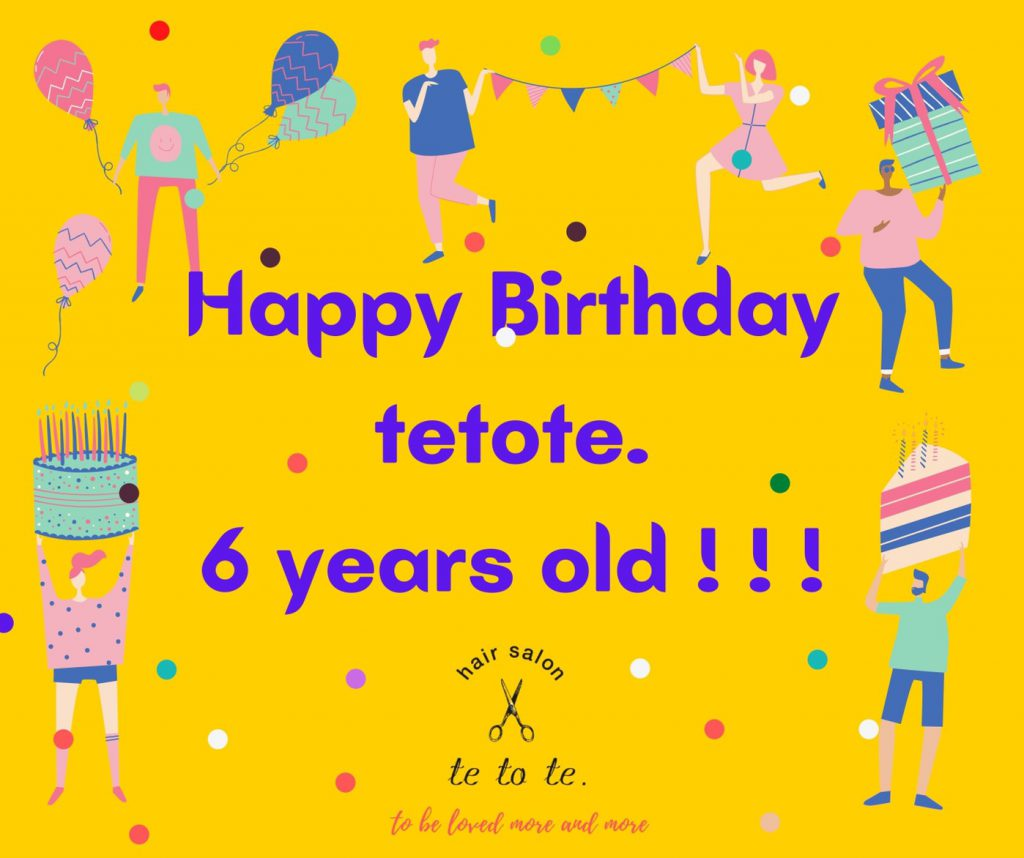 🌿🎊🎊 HAPPY BIRTHDAY TO TETOTE. 6 YEARS OLD ✨✨