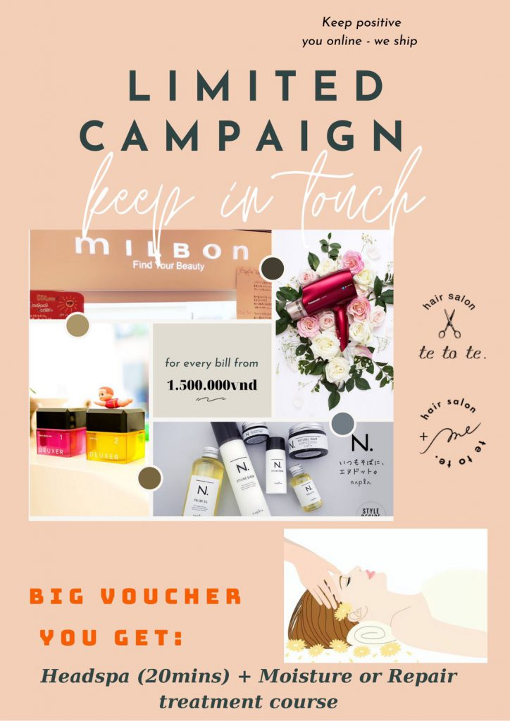 Limited Campaign – Keep in Touch
