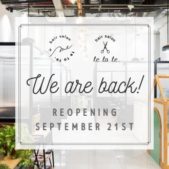 🎉Reopening from 21/9🎉